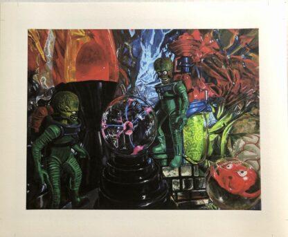 Martians print