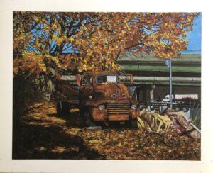 Truck print