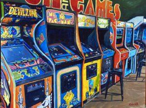 "Fun & Games Print 14""x17"""