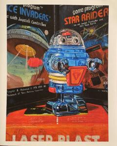 Space Invader - Print