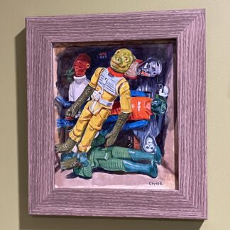 A Little Box of Figures - original painting