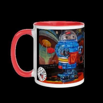 Space Invader Mug - Left Side