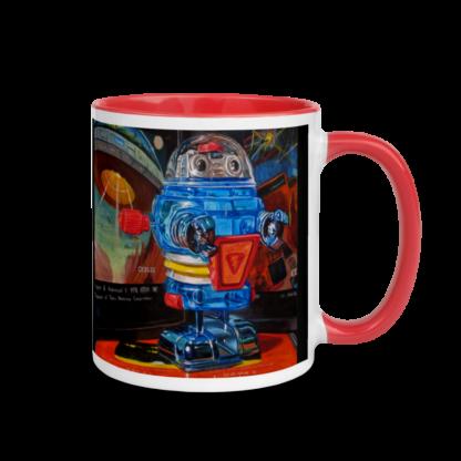 Space Invader Mug - RIght Side