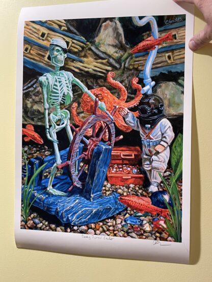 Davey Jones' Locker - Print